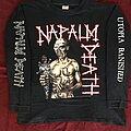 Napalm Death - TShirt or Longsleeve - Napalm Death utopia banished 92
