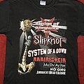 Slipknot - TShirt or Longsleeve - Slipknot block stock tour 01
