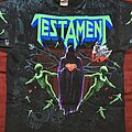 Testament - TShirt or Longsleeve - Testament Practice what you preach allover