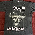 Danzig - TShirt or Longsleeve - Danzig how the god kills tour 92