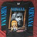 Nirvana - TShirt or Longsleeve - Memories of Kurt letter longsleeves late 90s