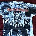 Iron Maiden allover eddies faces 92