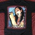 Marilyn Manson limb scar 90s