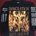 Immolation - TShirt or Longsleeve - Immolation darkness over Europe 01 LS