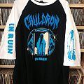 Cauldron - TShirt or Longsleeve - CAULDRON - In Ruin - Official baseball tour shirt Ruining Europe 2017