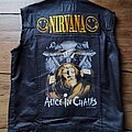 Alice In Chains - Battle Jacket - Alice in Chains backpatch / Grunge vest