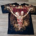 Hypocrisy - TShirt or Longsleeve - Hypocrisy Osculum Obscenum Allover Print Shirt