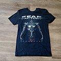 Fear Factory Genexus 2015 Tour Shirt
