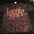 Lamb of God Wrath Allover Print Shirt 2