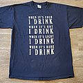 Swallow the Sun Official Drinking Crew Shirt