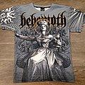 Behemoth - TShirt or Longsleeve - Behemoth Evangelion Allover Print Shirt