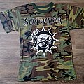 Soilwork Swedish Metal Attack Camo Shirt