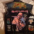 Battle Jacket Progress (patches/hand painted/airbrushed)