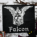 Falcon embroidered patch
