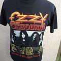 Unusual 1992 Ozzy Osbourne Concert Shirt (Reversed with Harley Davidson Label)