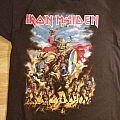 """Iron Maiden """"Maiden England 2013""""  scandinavian tour shirt"""