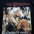 Carcass Symphonies Of Sickness rare T-Shirt