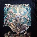 Megadeth - TShirt or Longsleeve - Megadeth - Chilean 2012, special tshirt,  Rattlehead Mapuche editions