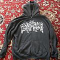 Belphegor Musick Sathan Art Zipper Hooded Top