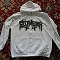 Belphegor - Hooded Top - Belphegor Der Pakt Mit Dem Teufel White Zipper