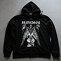 Belphegor Baphomet Zipper Black Hooded Top