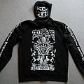 Belphegor Goatchrist Zipper Hooded Top