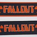 Fallout - Patch - Falliout - Logo Stripe