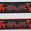Carnivore - Patch - Carnivore - Logo Stripe