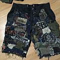 Patched short (pants)