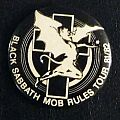Black Sabbath Mob Rules Concert Pin Other Collectable