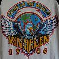 Van Halen - TShirt or Longsleeve - VAN HALEN 1984 Concert Tour Jersey
