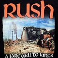 Rush T Shirt - A Farewell To Kings