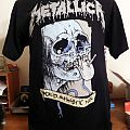 METALLICA 2009 Tour Shirt - L - World Magnetic - PUSHEAD