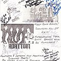 Flotsam And Jetsam, Abattoir Signed Flyer Other Collectable