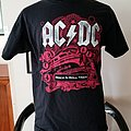 AC/DC 2009 Concert Tour Shirt - L - BLACK ICE