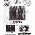 Exodus Autographs Other Collectable