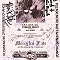 Mercyful Fate & Slayer Autographs Other Collectable