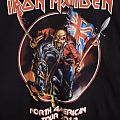 IRON MAIDEN 2012 Concert Tour Shirt - Maiden England
