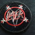 Slayer - Patch - Slayer embroidered circle logo patch.