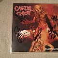 Cannibal Corpse The Unreleased Deathboard (Bootleg) LP (signed) Tape / Vinyl / CD / Recording etc