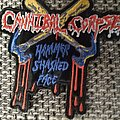 Cannibal Corpse Hammer smashed Face  Shape Patch