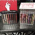 Cannibal Corpse  When Death Replaces Life and The Undead will Feast Tape Box Tape / Vinyl / CD / Recording etc