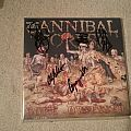 Cannibal Corpse Gore Obsessed LP (signed) Tape / Vinyl / CD / Recording etc