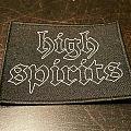 High Spirits Logo patch