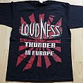Loudness - TShirt or Longsleeve - Loudness - Thunder in Europe shirt