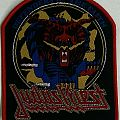 "Judas Priest ""Defenders Of The Faith"" Woven Patch."