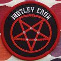 "Original Motley Crue ""Shout At The Devil"" Woven Patch."
