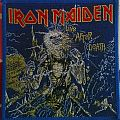 "Original Iron Maiden ""Live After Death"" Woven Patch."