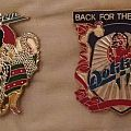 """Original Dokken """"Beast From The East"""" and """"Back For The Attack"""" Enamel Pins. Other Collectable"""