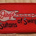 "Original Dire Straits ""Sultans Of Swing"" Woven Patch"